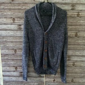 Express Button-Down Sweater Size S